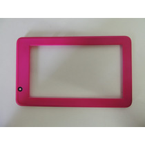 Moldura Frontal De Tablet Smart Dl Hd7 Rosa Usado