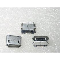 Conector Usb Jack Carga Power Tablet Micro Usb V8 5 Pinos