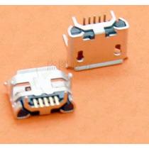 Dc Jack Conector Carga Micro Usb V8 Tablet 5 Pinos