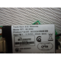 Placa Fax Modem P/ Notebooks Win Cce Modelo:ml3054. Garantia