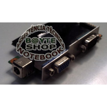Placa Conector Jak + Video + Serial Notebook Amazon Pc A 201