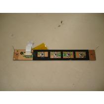 Placa Power On + Flat Notebook Itautec W7630 W7635 W7645