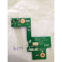 A275 Placa Dc Power Asus N53j Jack Nova Conector Notebook