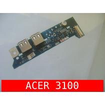 Cx12.1 - Placa Botão Power Usb Acer 3100 3690 5100 5110 5650