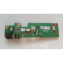 Placa Svideo Conector Rj11 Fax Notebook Positivo Mobile W67
