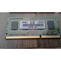 Memória Smart / Hp Original 1gb Ddr3 Pc3-10600s P / Notebook