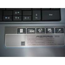 Notebook Acer Aspire 5532 Peças, Sucata