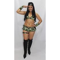 Fantasia Militar Sexy Feminina Sensuais Eróticas