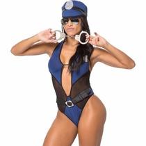 Fantasia Erótica Policial Feminina Sensual ((+ Brinde))