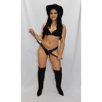 Fantasia Cowgirl Feminina Sensuais Eróticas