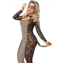 Fantasia Erótica Gata Manhosa Sexy Adulto Feminina Nova