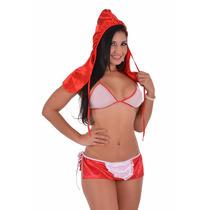 Fantasia Sexy Chapeuzinho Vermelho Erótica - Pronta Entrega