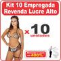 Fantasia Empregada Sensual Erótica Kit 10 Revenda Lucre Alto