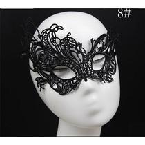 Mascara Sexy Veneziana Carnaval Erótica Em Renda Mod. 8