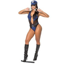 Fantasia Policial Sensual - Policia Sexy ((+ Brinde))