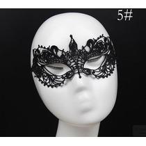 Mascara Sexy Veneziana Carnaval Erótica Em Renda Mod. 5