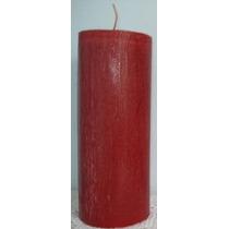 Linda Vela Vermelha - Grande E De Ótima Qualidade