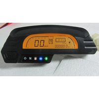 Painel Digital Universal Moto Off Road Velocímetro Tacômetro