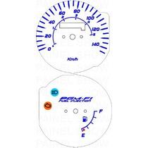 Kit Acrilico P/ Painel - Cod436v140 - Cg Injeção Eletronica