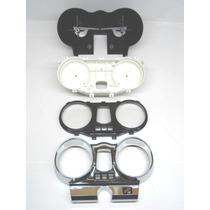 Carcaça Painel Twister Kit Completo 4 Peças Superior Cromada
