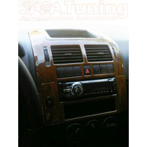 Kit Painel Madeira Vw Polo 03/ Sedan Ou Hatch Painelkit