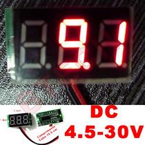 Voltimetro Digital Bateroa Meter Proteger Som Modulo Mp3 Dvd