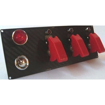 Painel Instrumentos Automotivo Partida E Botões Caça