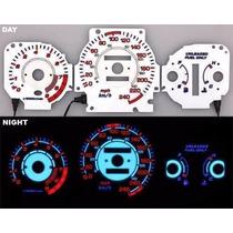 Painel Eurolight Glow Neon Honda Civic 96 97 98 99 00 Km/h