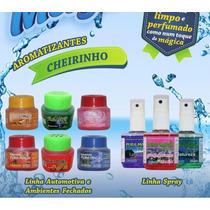 Kit 10 Odorizante Líquido Ou Spray Carro E Casa Revenda
