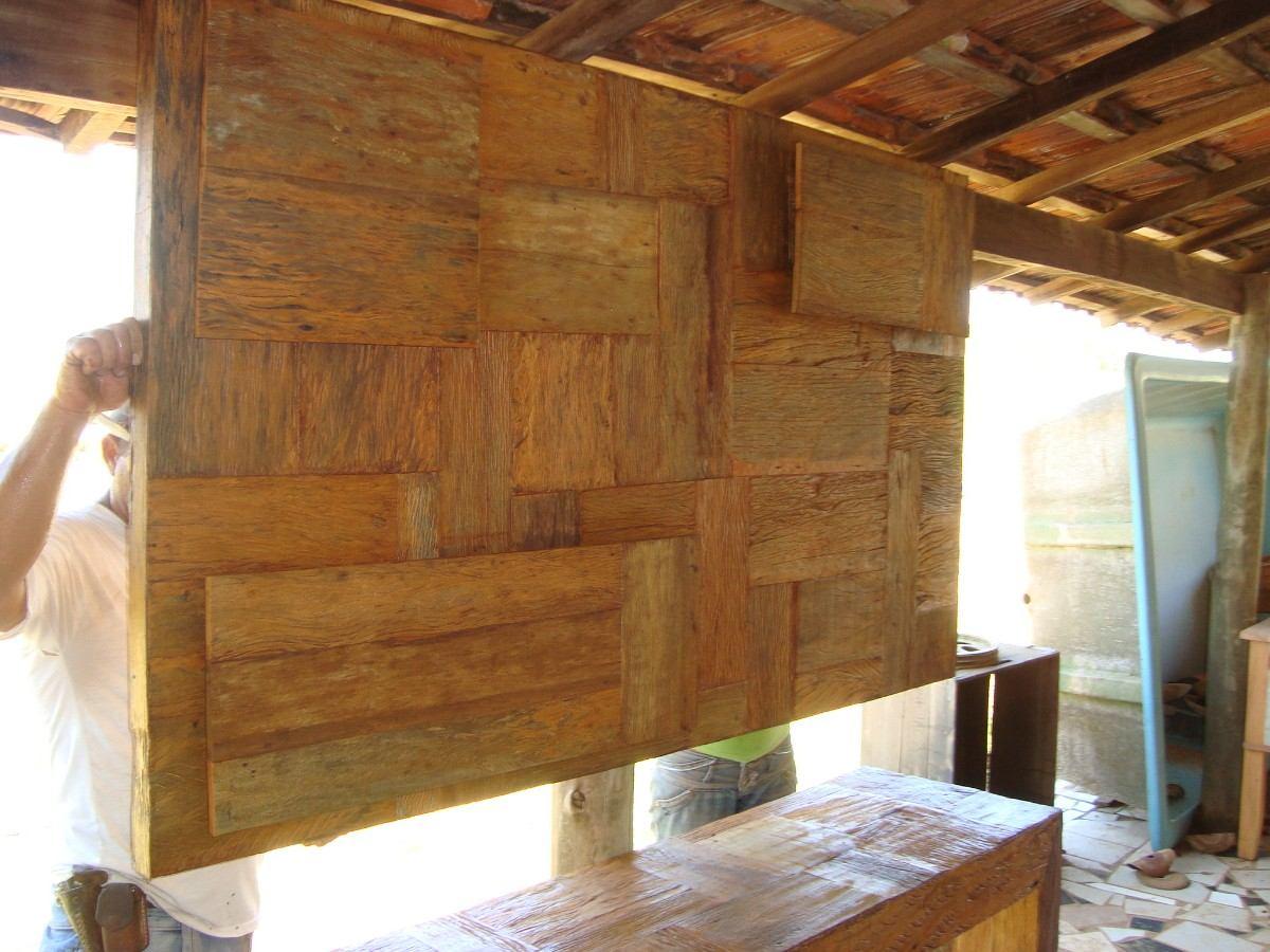 painel de madeira de demolição peróba rosa! preço por m2. #774824 1200x900