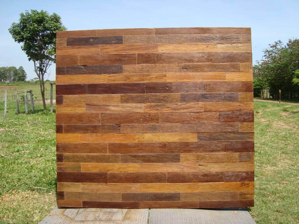 Pin Painel De Madeira De Demolição Painel Para Tv Revestimento De  #2867A3 1200x900