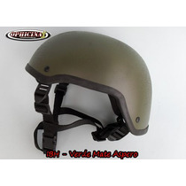 Capacete Tático - Mich 2001 - Paintball Airsoft - Verde