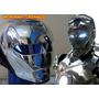 Máscara Iron Man - Cromo Espelhado - Paintball X Airsoft