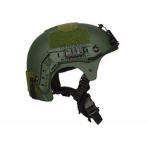Capacete Tático Paintball Airsoft Ibx Verde Musgo
