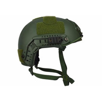 Capacete Tático Paintball Airsoft Fast B Verde