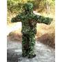 Vestimenta Ghillie De Camuflagem 3d