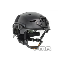 Capacete Tatico Fma Exf Bump Preto Airsoft Paintbal