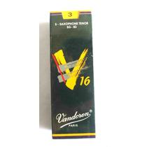 Palheta Vandoren Sax Tenor Sr723 Nº 3 Caixa Com 5 V16