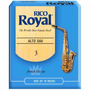 Palheta Rico Royal Para Sax Alto Nº 3 Frete Gratis