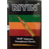 Palheta Para Sax Soprano - Riyin - N° 2 Caixa Com 10