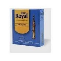 Palhetas Rico Royal P/ Sax Soprano Nº 2,0 (cx C/ 10)