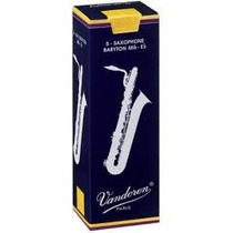 Palhetas Vandoren P/ Sax Barítono Nº 2,0 (cx C/ 05)