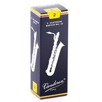 Palheta Vandoren N°2 Para Sax Barítono