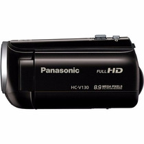 Filmadora Panasonic Hc-v130 Full Hd Zoom 75x + Cartão 32 Gb