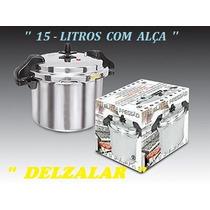 Panela De Pressaõ Industrial 15 Litros - Fulgor + Brinde .