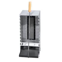 Churrasqueira Gas Inox Vertical Infravermelho Churrasc Grego