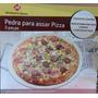 Pedra Refrataria Para Pizza Com 3 Utensilios