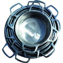 Jogo Panelas Com 8 Peças, Aluminio Batido Fundido