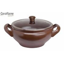 Panela Caçarola Cerâmica Terrine 28cm Chocolate - Ceraflame