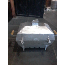 Churrasqueira Aluminio Bafo Retangular Grande